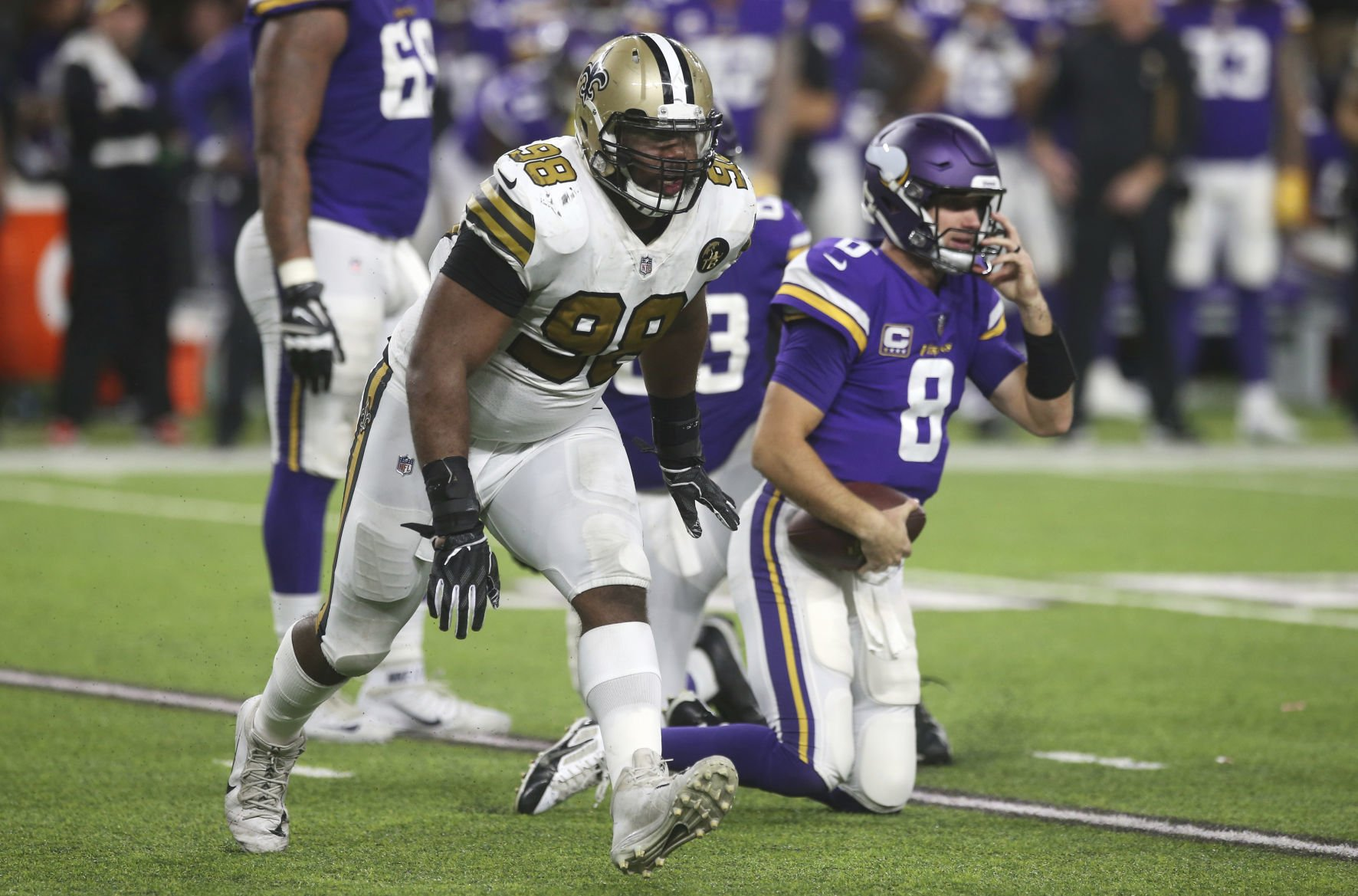 As Sheldon Rankins recovers from major injury, Saints to pick up ...