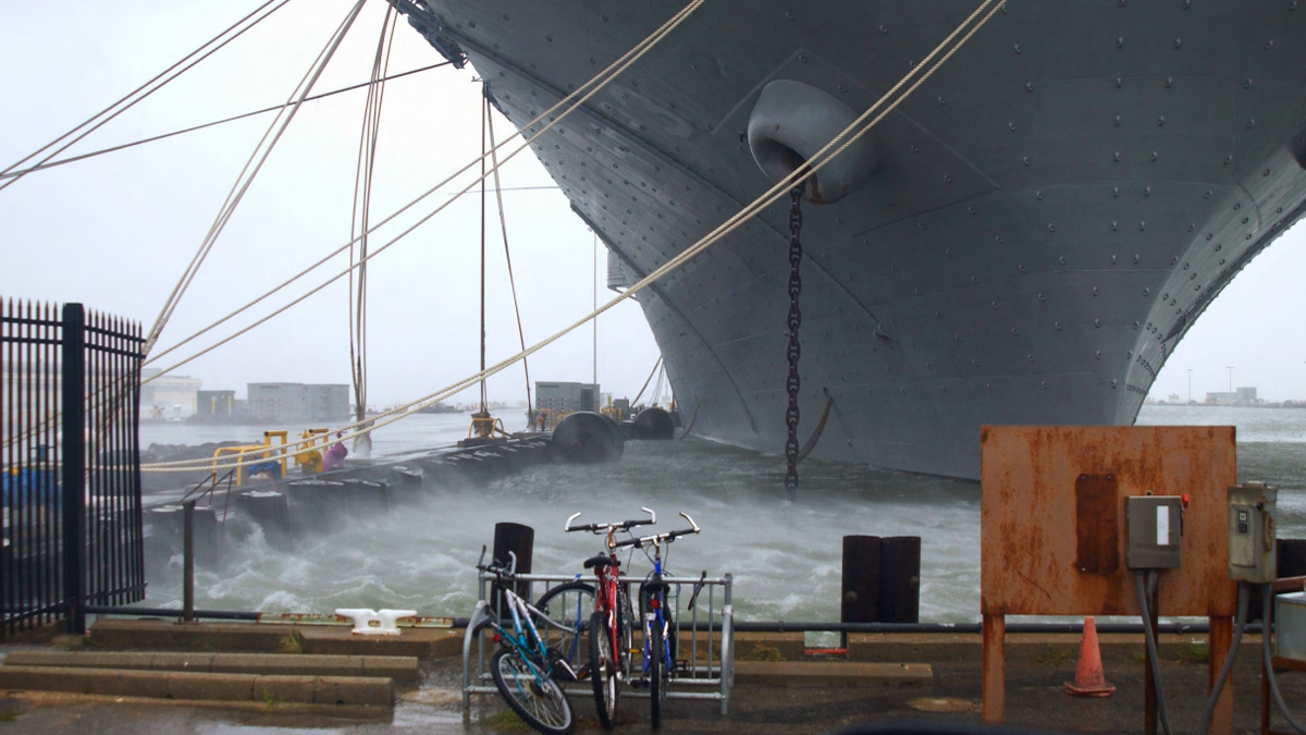Navy storm