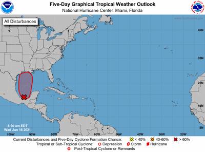 Tropical outlook June 16 7 am