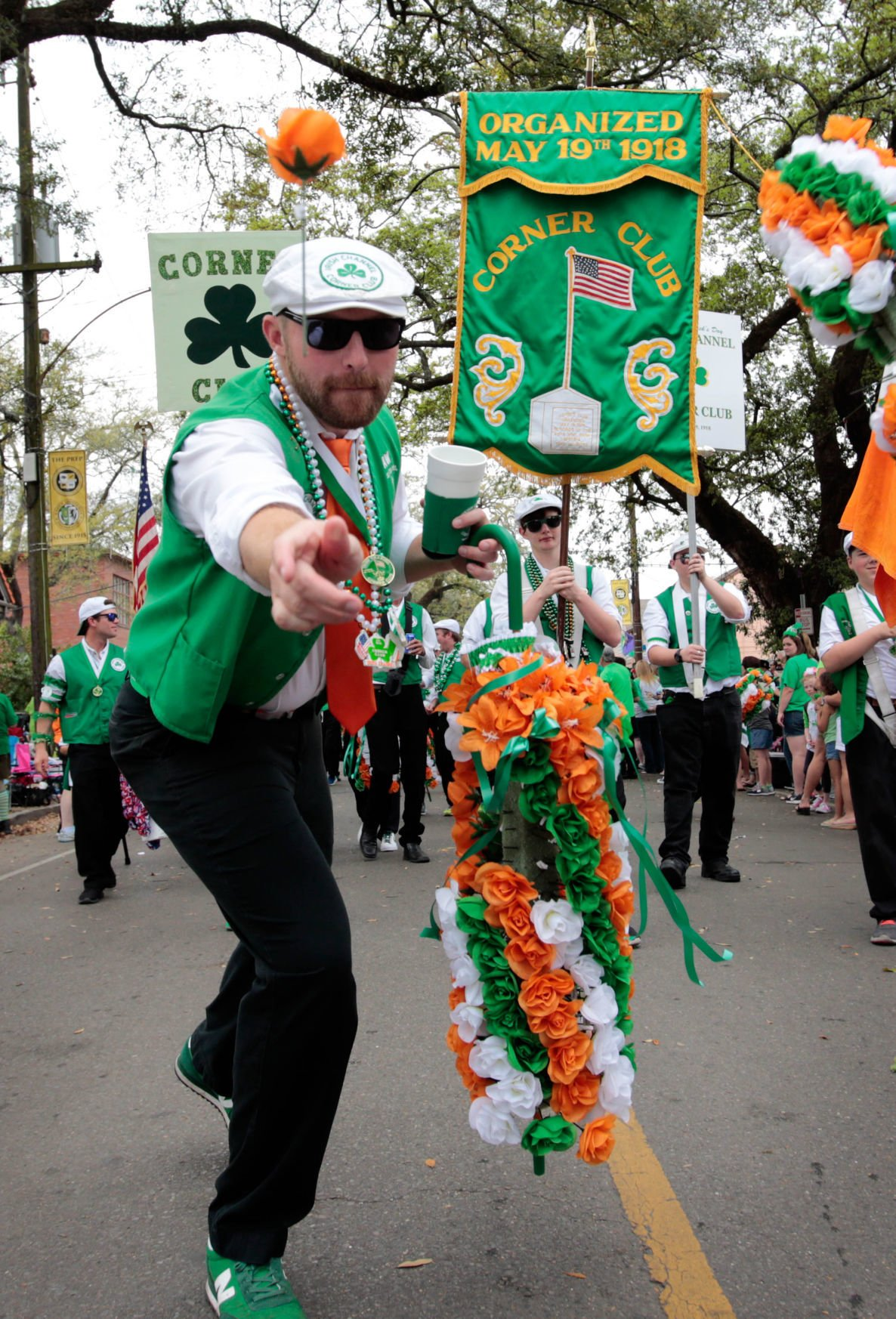 irish italian parade 2020 chalmette