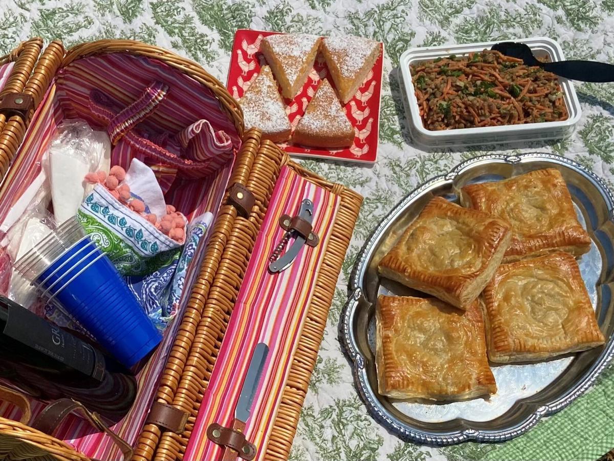 picnic with basket judy walker.jpg