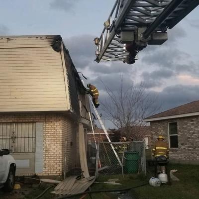Harvey apartment complex fire