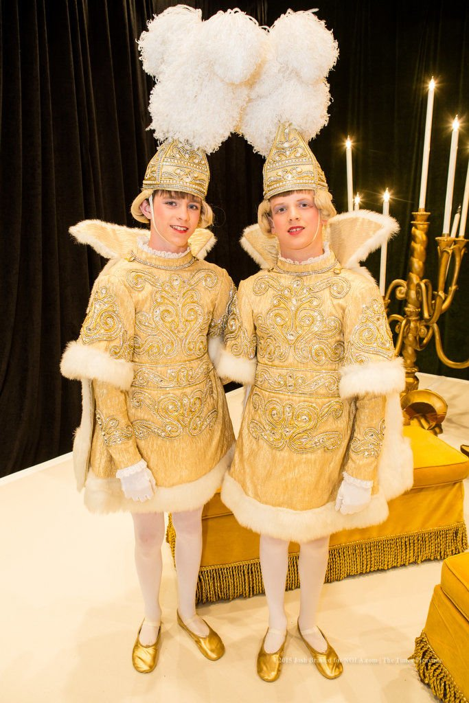 Gold and Silver Linings: The meeting of the Rex and Comus courts brings Carnival to a close
