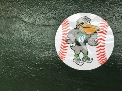 Who created Tulane baseball's new 'W' logo stickers to help celebrate wins?