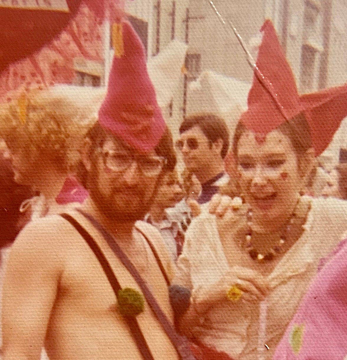 Robby Anderson and Ann Lyneah Curtis during Mardi Gras 1976.jpg