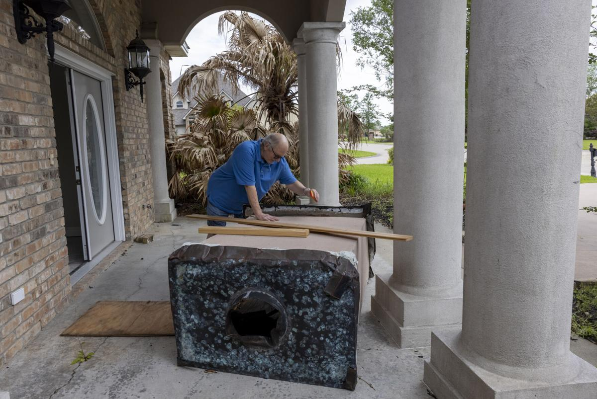 Rebuilding from Laura as 2021 hurricane season begins