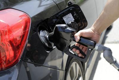 Gas pump file photo