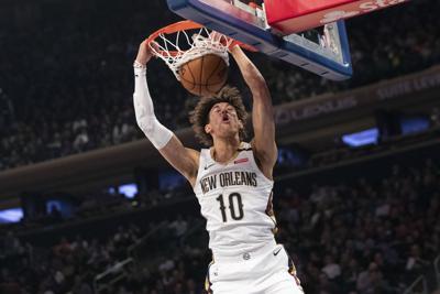 Pelicans Knicks