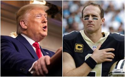 Trump and Brees