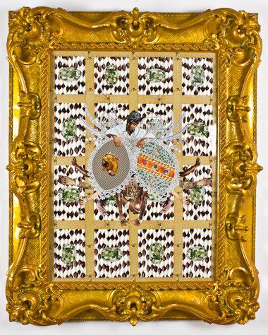 Artist Rashaad Newsome brings bling to the New Orleans Museum of Art
