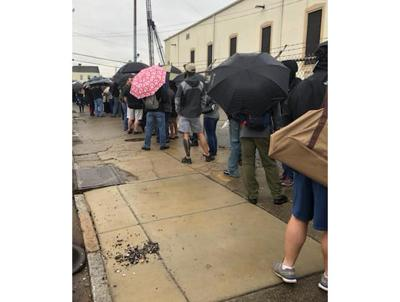 Hundreds in line for New Orleans gun buy-back turned away after capacity reached