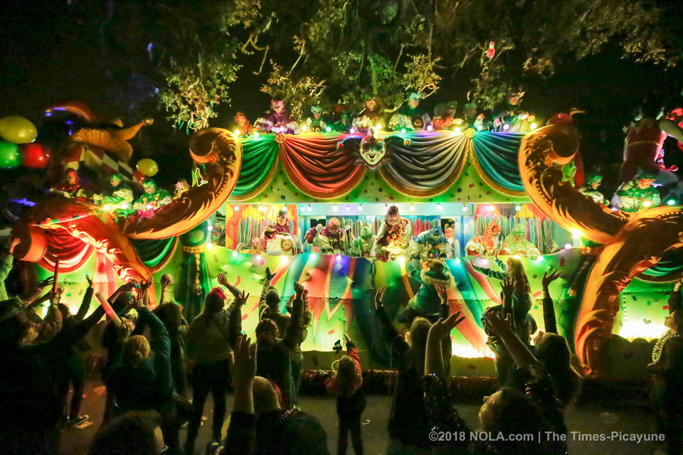 Superkrewe of Orpheus rolls in New Orleans: See photos from the parade