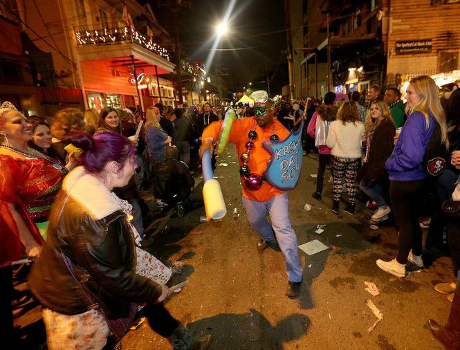 How to get arrested during Mardi Gras