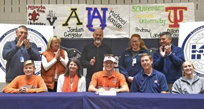 Northshore's Michael Bonson signs with Auburn