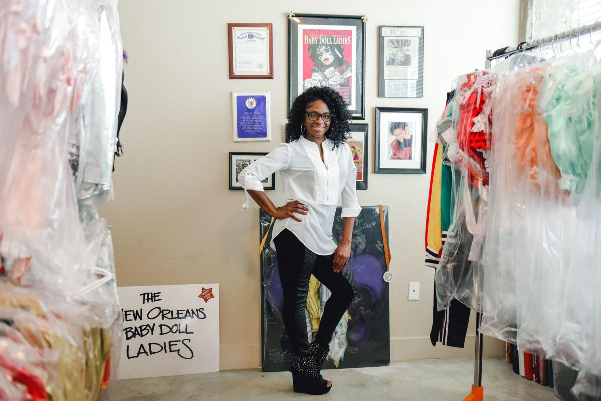 Millisia White in front of Costumes.jpg