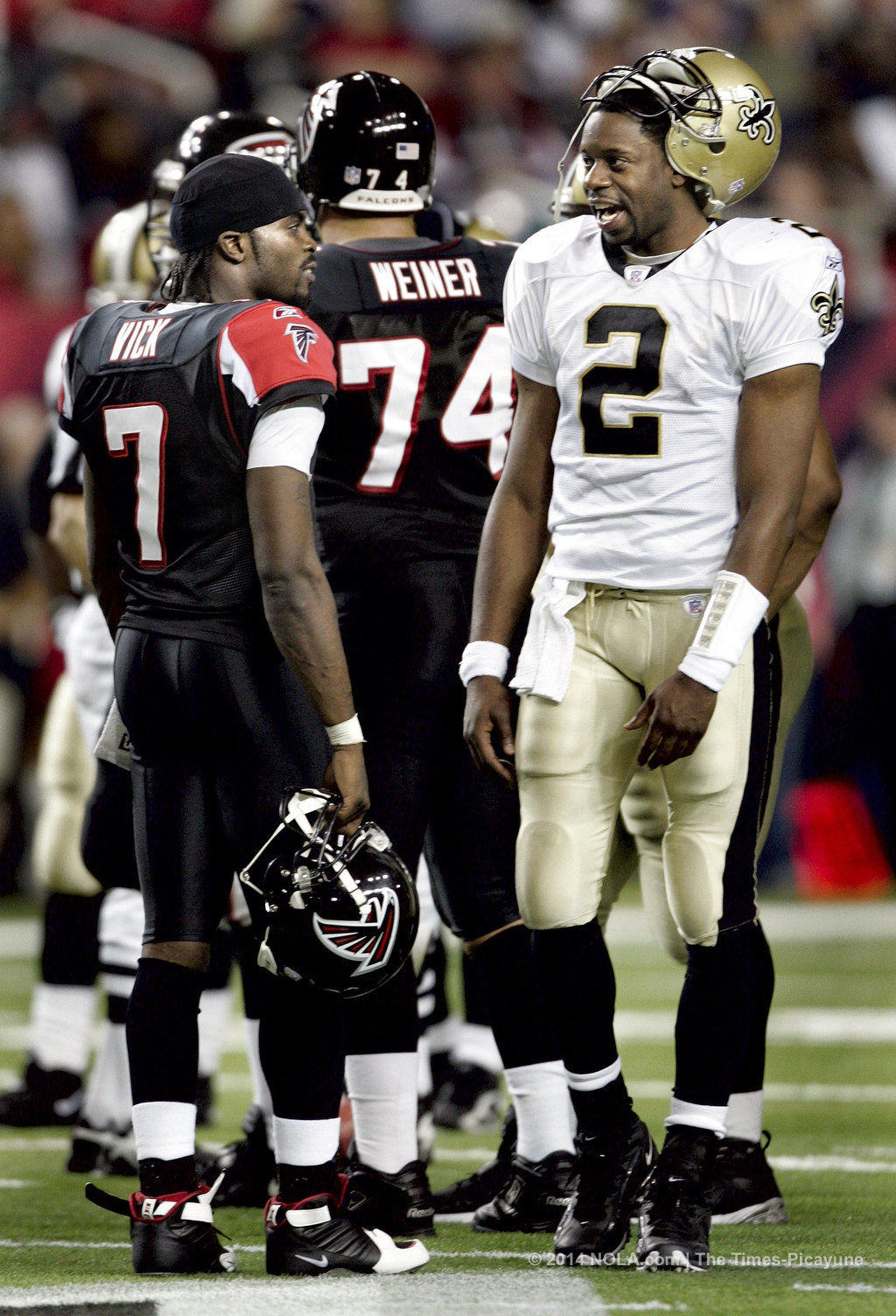 Former New Orleans Saints Qb Aaron Brooks Remains A