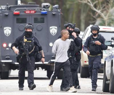 NOPD arrests standoff suspect February 8, 2021