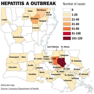 072419 Hepatitis A by parish