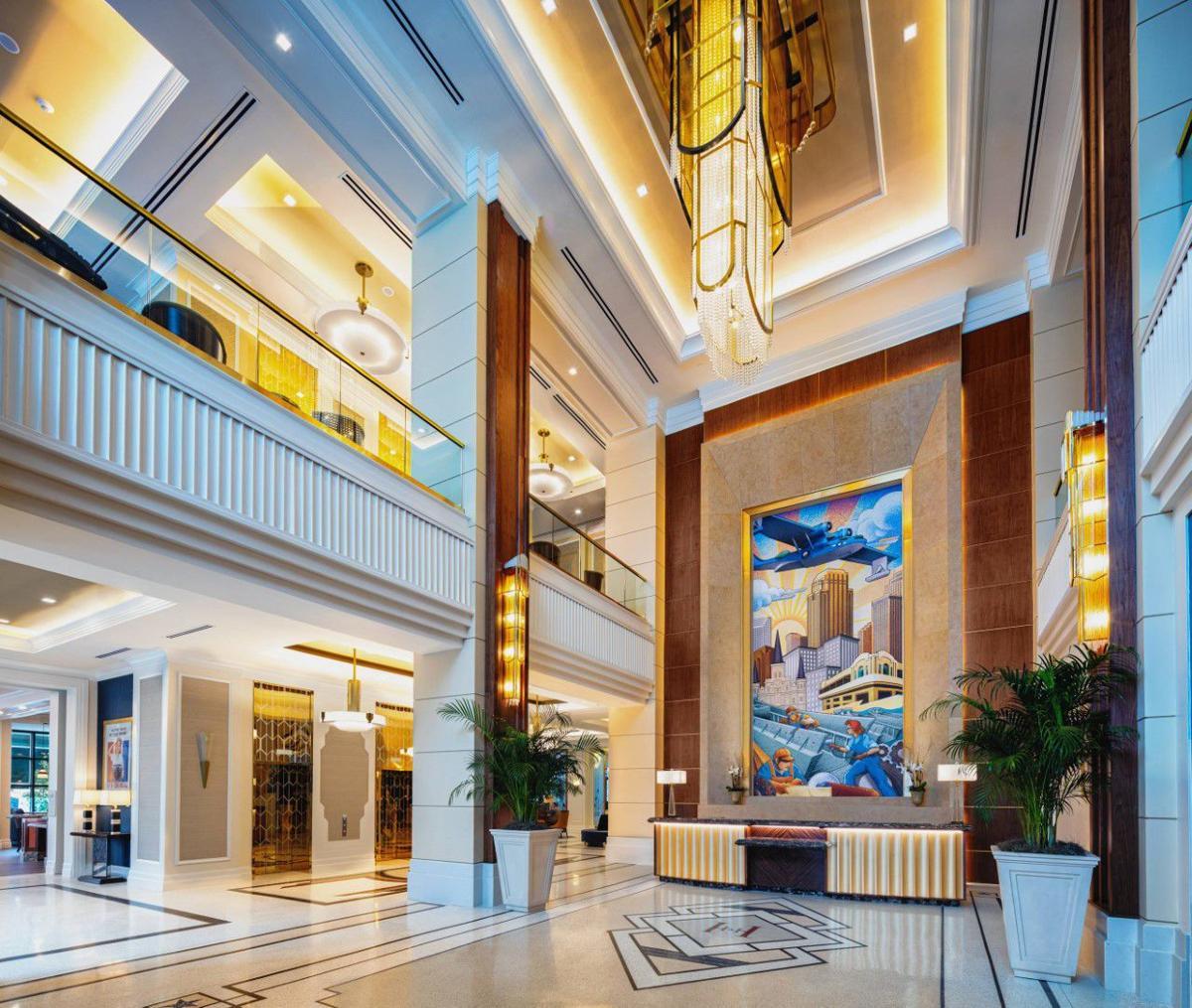 Higgins Hotel interior