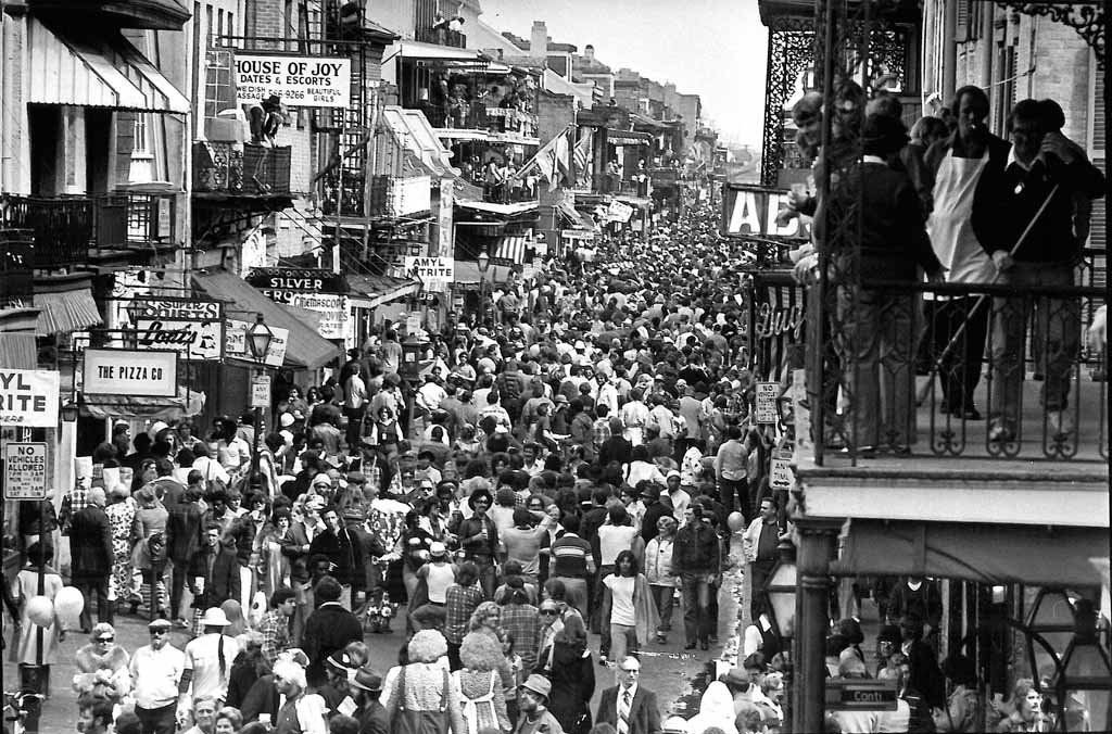 From gunplay to good times, Bourbon Street has long been a study in contrasts