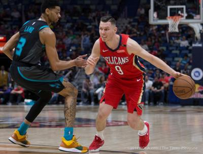 The New Orleans Pelicans host the Charlotte Hornets