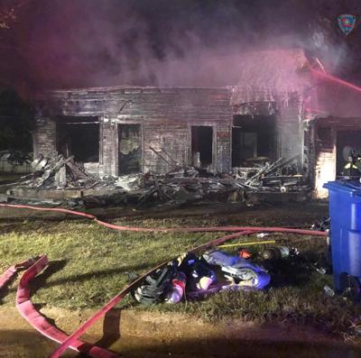 Fatal house fire in Hodge