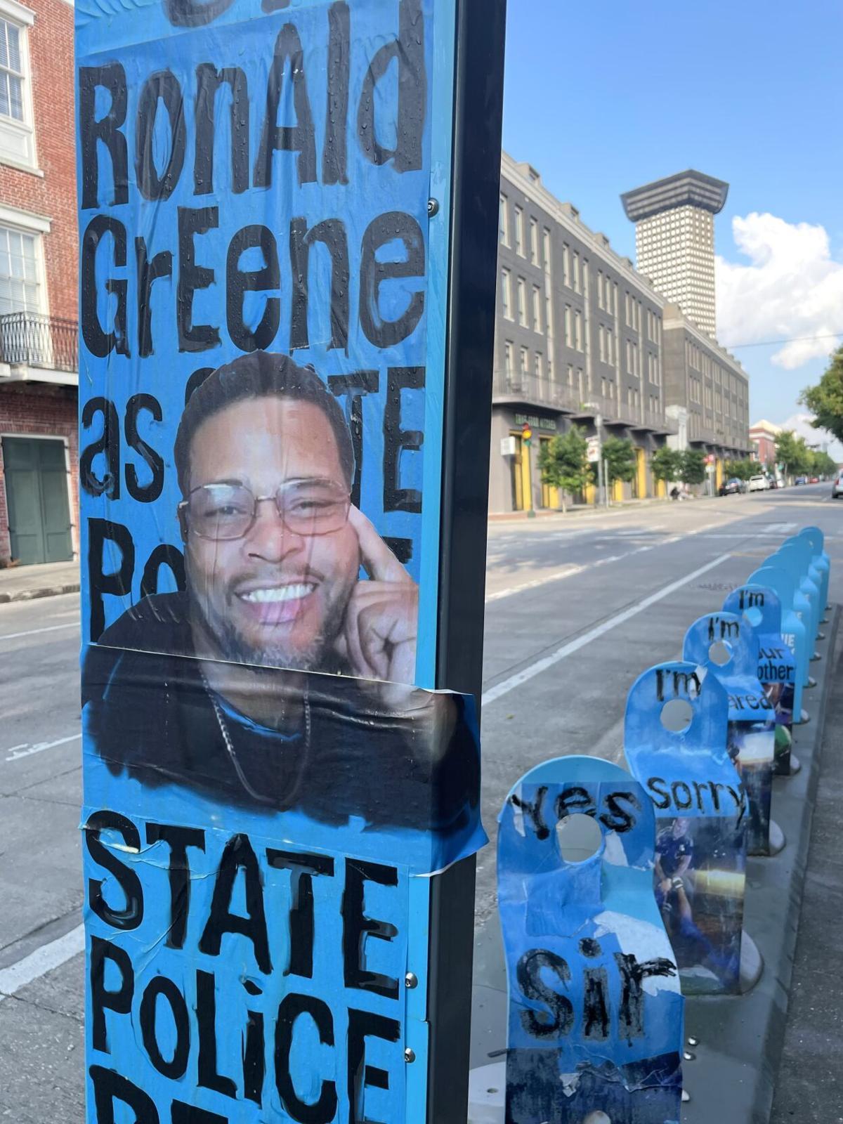 Graffiti by Walta Focq depicts the late Ronald Greene, Aug.jpeg