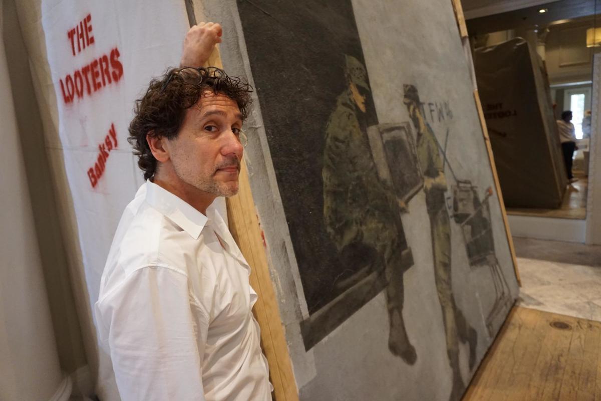 Banksy's edgiest New Orleans mural is on display again