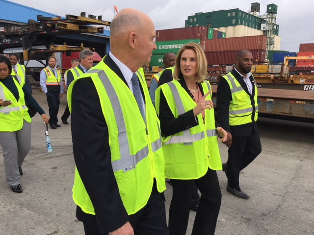 Trump's top maritime administrator calls on Port of New Orleans