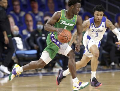 Tulane Tulsa Basketball