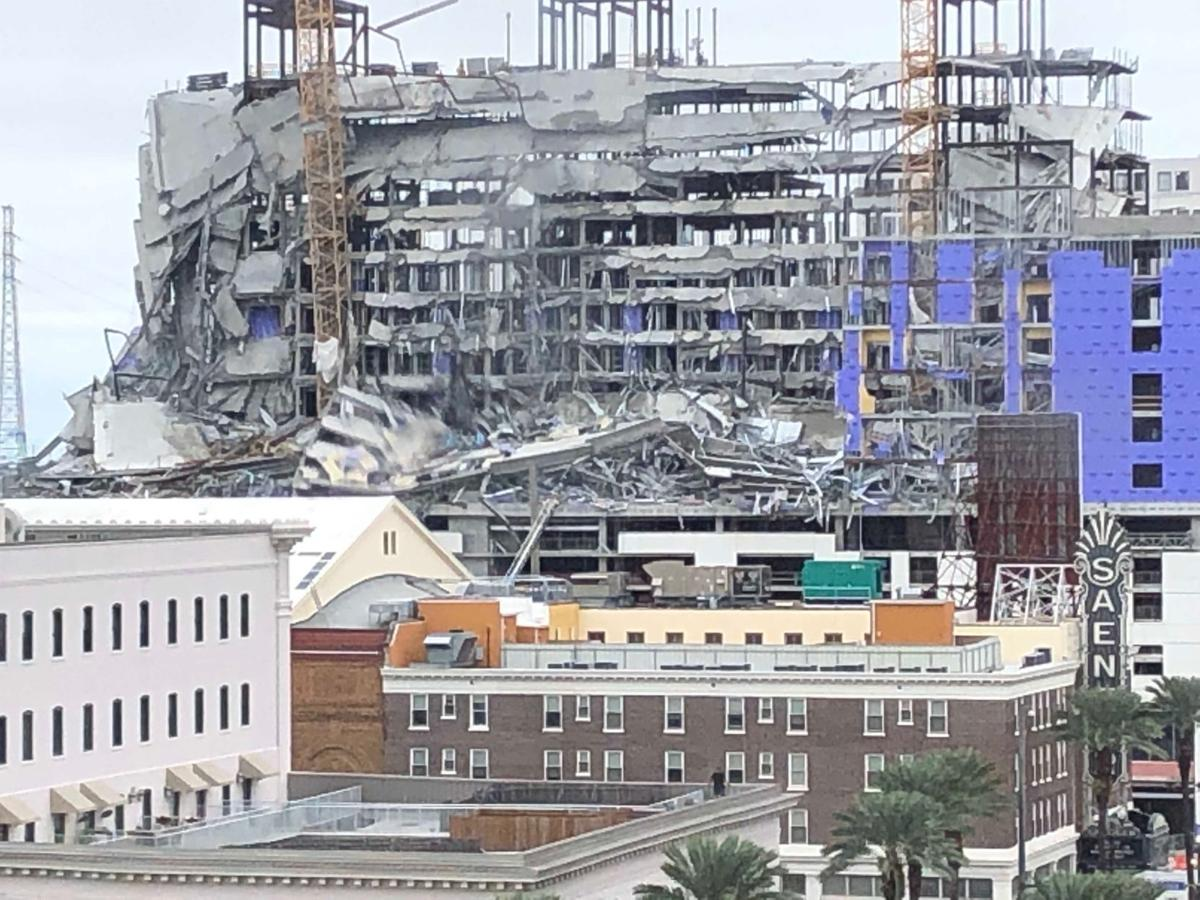 Hotels In New Orleans >> Collapse Of Hard Rock Hotel New Orleans Under Construction