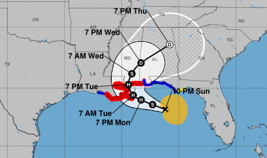Hurricane Center: Sally remains major wind, rain threat as landfall shifts east; see track | Hurricane Center | nola.com
