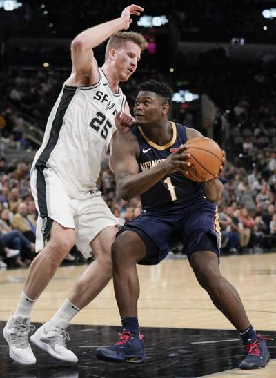 Pelicans Spurs Basketball