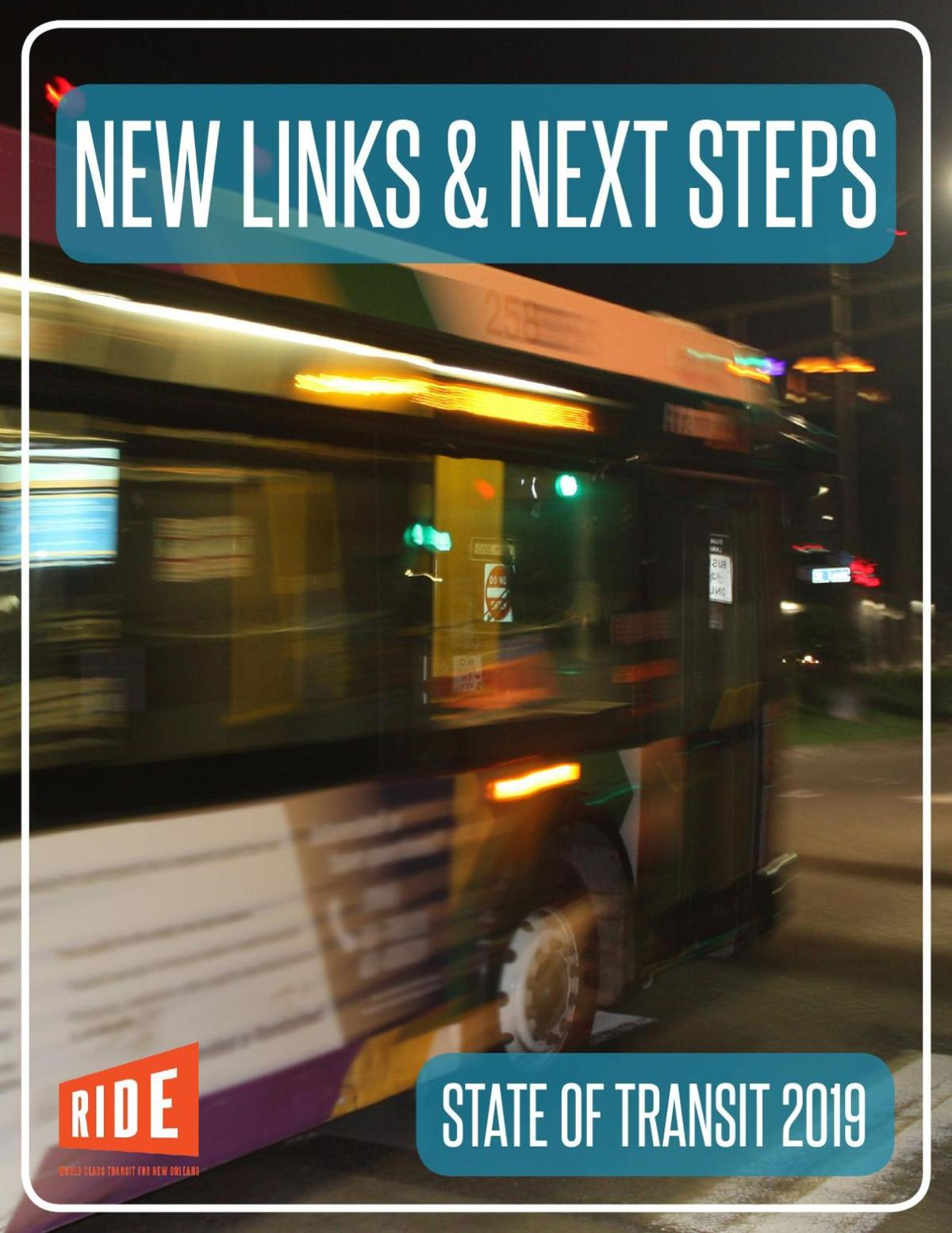 RIDE New Orleans State of Transit 2019