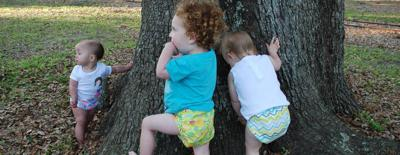 FuzziBunz, designer reusable diapers, founded by Tereson Dupuy of Lafayette