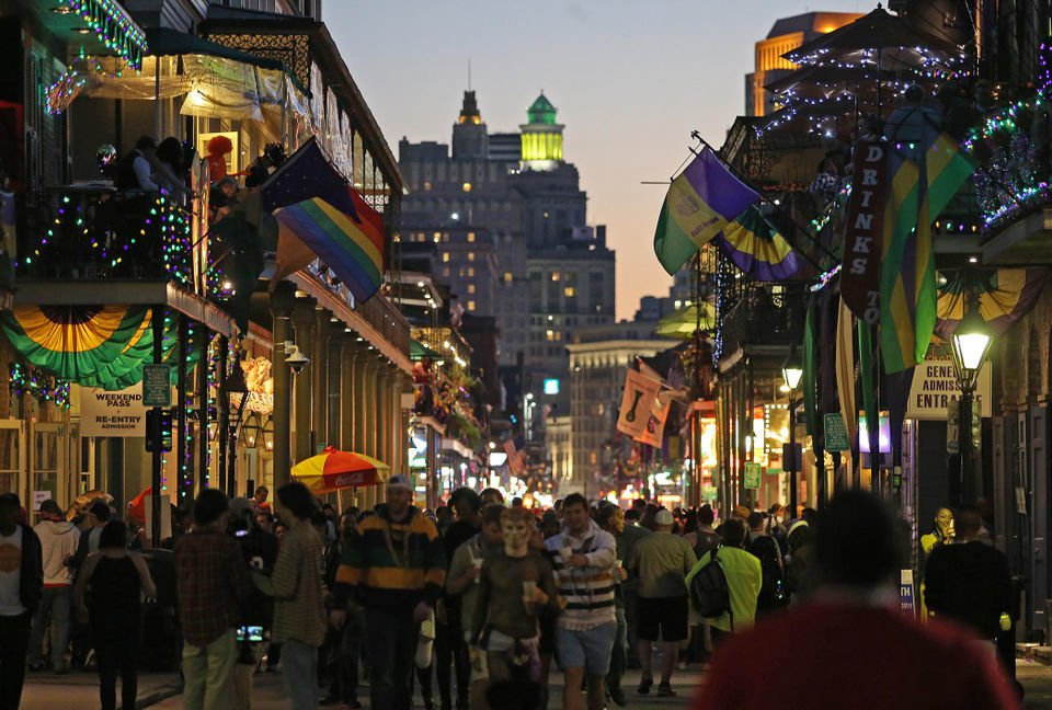 How many people does tourism actually employ in New Orleans?