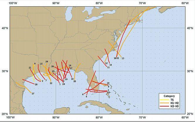 The 10 costliest hurricanes in U.S. history | Weather | nola.com