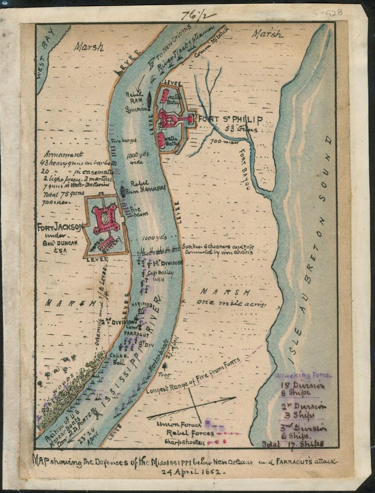 Fort Jackson map