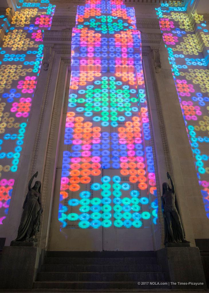 LUNA Fete, fabulous free light festival, extended to Sunday (Dec. 10)