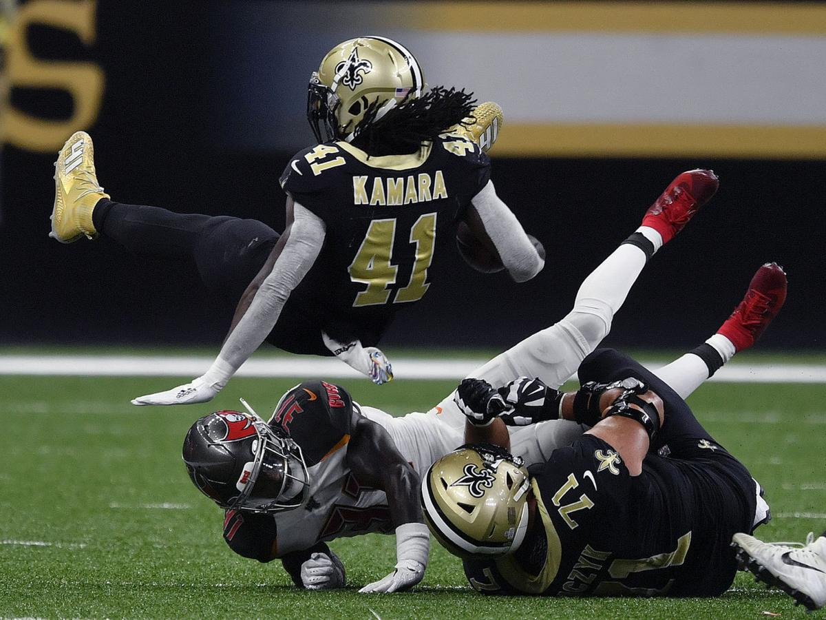 Saints Rb Alvin Kamara Limited In Thursday S Practice Due To
