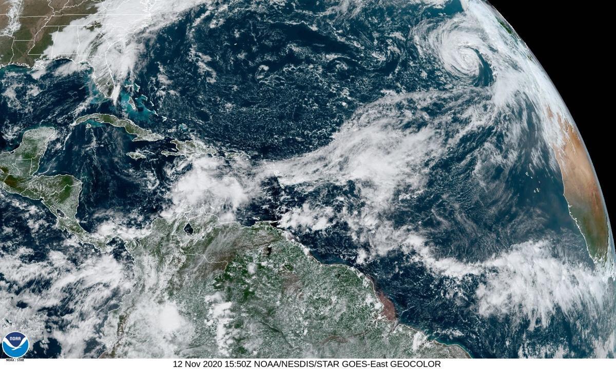 Atlantic satellite 10am Thursday