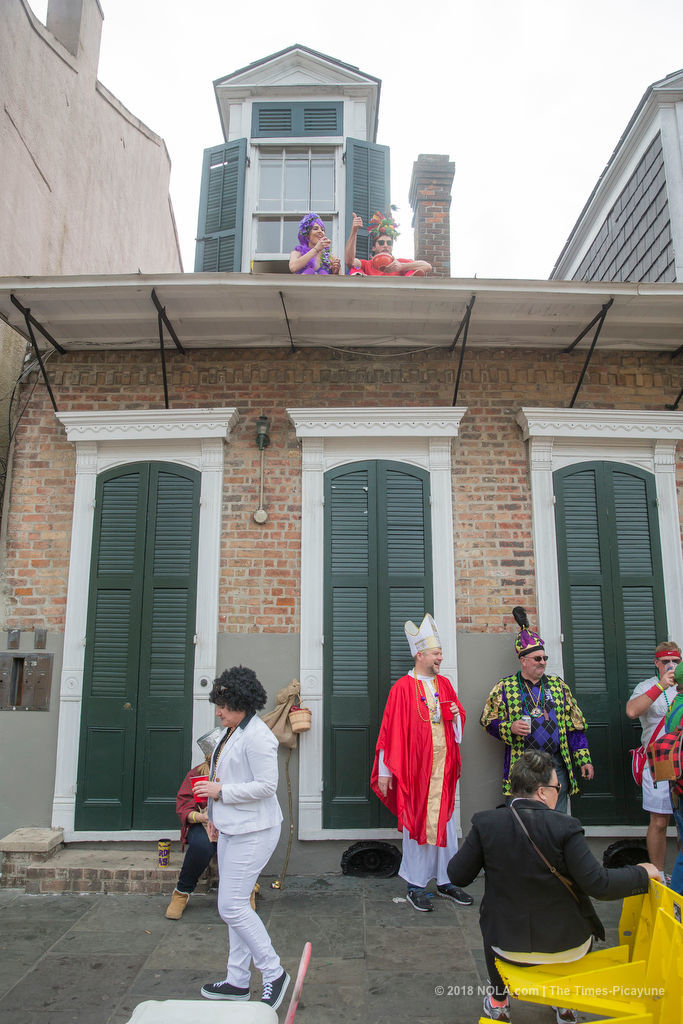 Mardi Gras costumes on display in the French Quarter: Photo gallery