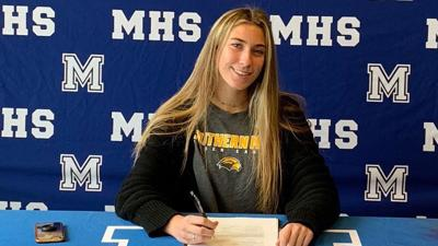 Mandeville's Aubrey Olin signs with Southern Miss