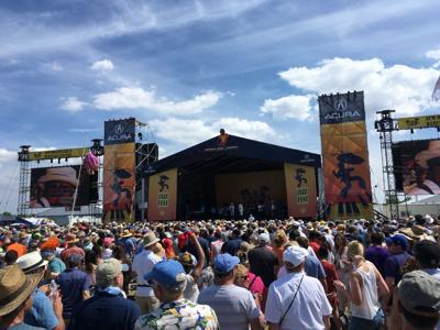 Jazz Fest Acura stage crowd (copy)