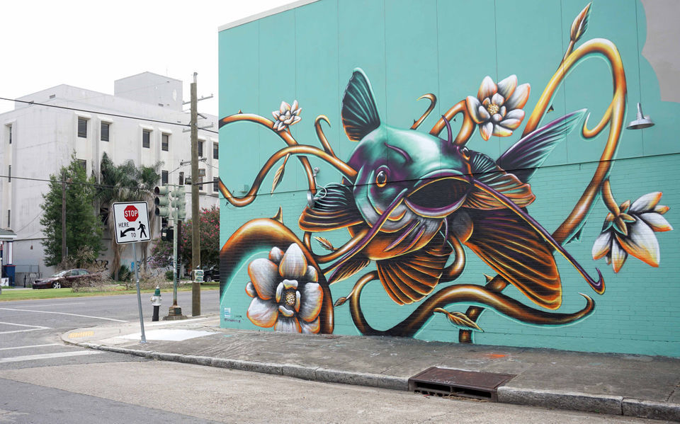 Outlaw NOLA Mural Project was designed to defy New Orleans ordinances