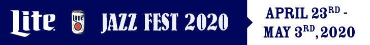 Miller Lite Jazzfest 2020 2