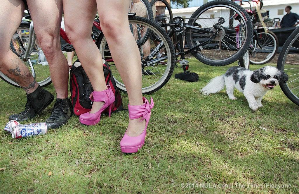 World Naked Bike Ride 2015 cruises through New Orleans Saturday, June 13