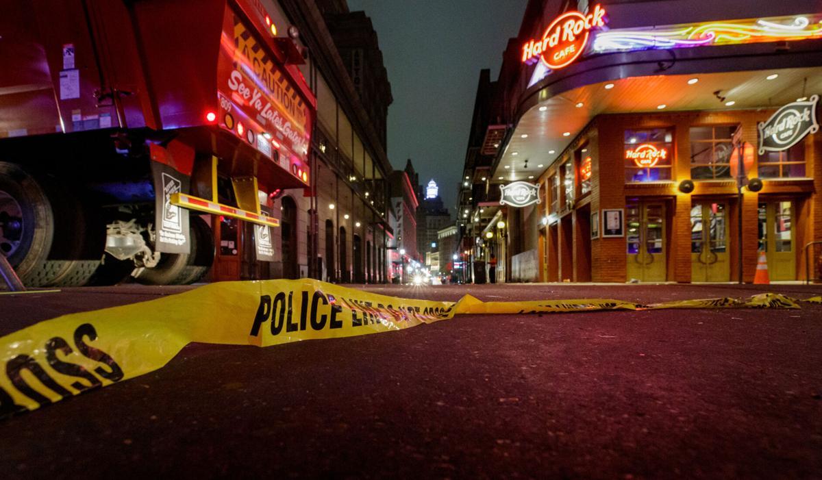 Bourbon Street shooting, April 24, 2021