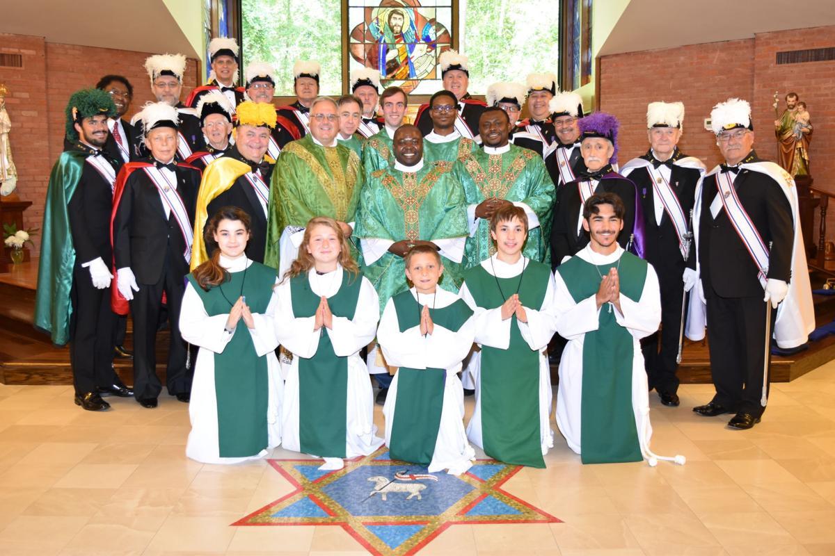 St. Luke Offia mass