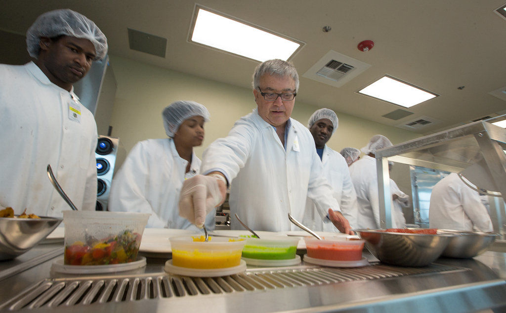 Stella chef Scott Boswell serves a four-course meal at the Orleans Parish Prison